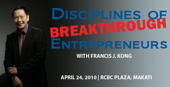 Disciplines of Breakthrough Entrepreneurs